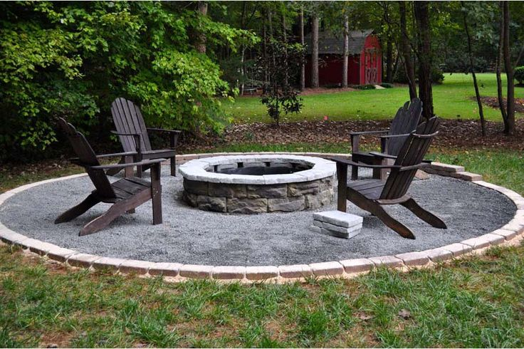Homemade-Fire-Pit-With-Rocks