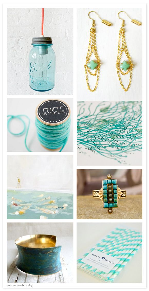 Etsy Finds + Faves: 06. 24. 11 | Creature Comforts