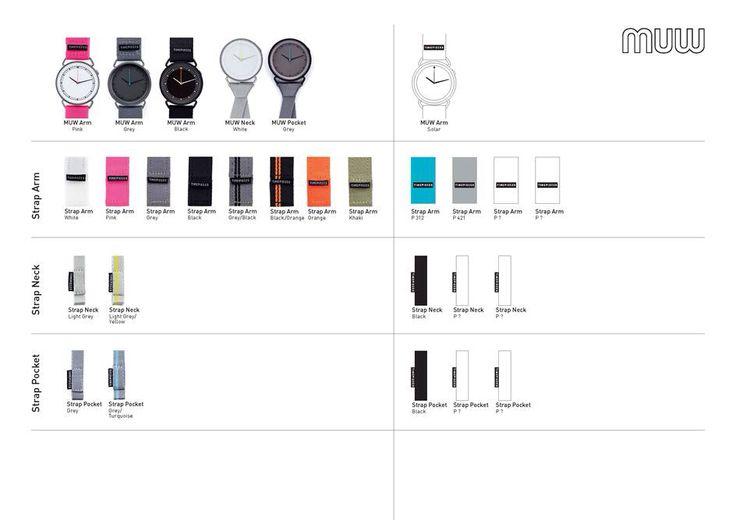 MUW watch serier. Design Rikke and Kasper Salto. #watch