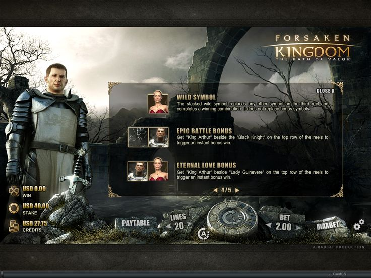 Forsaken Kingdom Online Slot Game