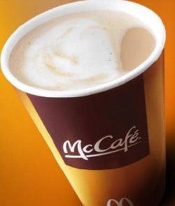 I cannot get enough McDonald's coffee once the weather gets cool.  Add 2 creams and skip the sugar for a low carb treat.