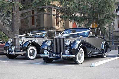 Silver Service Wedding cars - 1951 &1941 Rolls Royce Silver Wraith