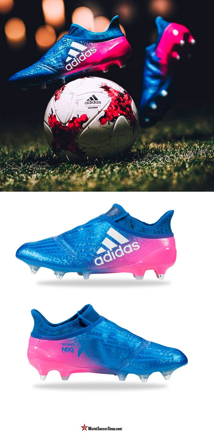 ⚡️ NEW! ⚡️ adidas X 16+ Purechaos SG  Made for the players who are uncontrollable, the players who are always willing to go the extra mile for the team, for the players who can turn a game on its head in an instant. The X 16+ Purechaos is the perfect cleat for the likes of LuisSuarez, Gareth Bale, and Thomas Muller. Available now at WorldSoccerShop.com