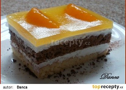 "Mandarinková ""zebra"" recept - TopRecepty.cz"