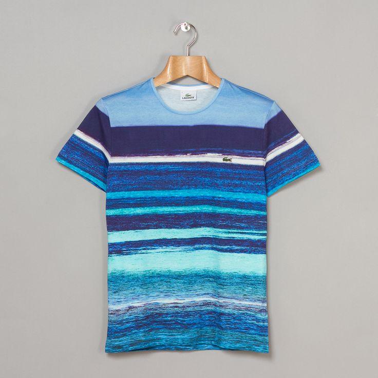 Lacoste Printed Ocean Shirt