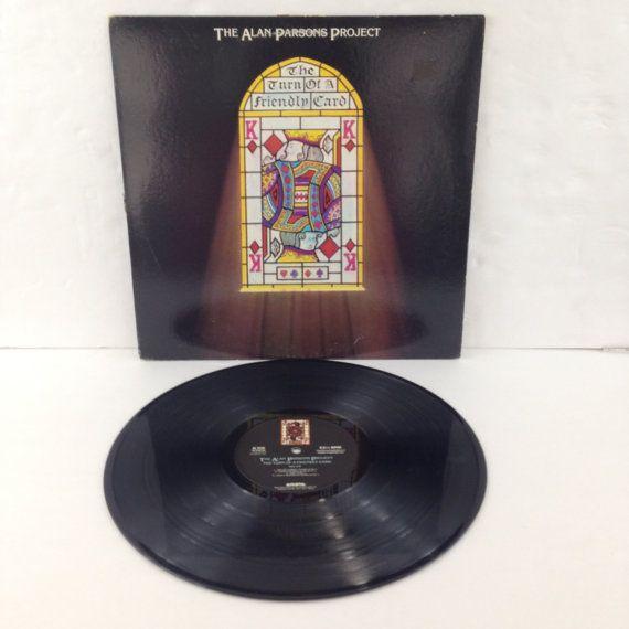 The Alan Parsons Project The Turn Of A Friendly Card Vintage Vinyl Record Album lp 1980 Arista Records AL 9518 by NostalgiaRocks