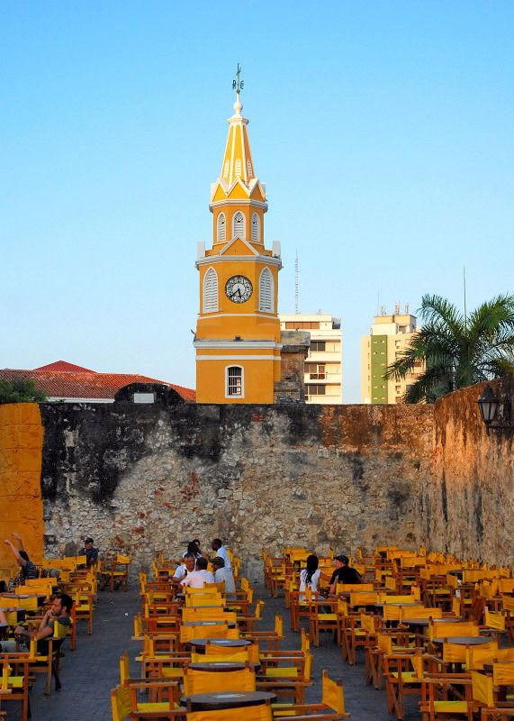 evening - Cartagena, colombia