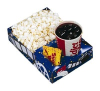 $49.50 #Theater #Combo Trays 250/Case  Snappy Popcorn offers a variety of flavors, packaging, and the #supplies to make your own popcorn #party!    http://www.snappypopcorn.com/productcart/pc/Theater-Combo-Trays-250-Case-8p102.htm