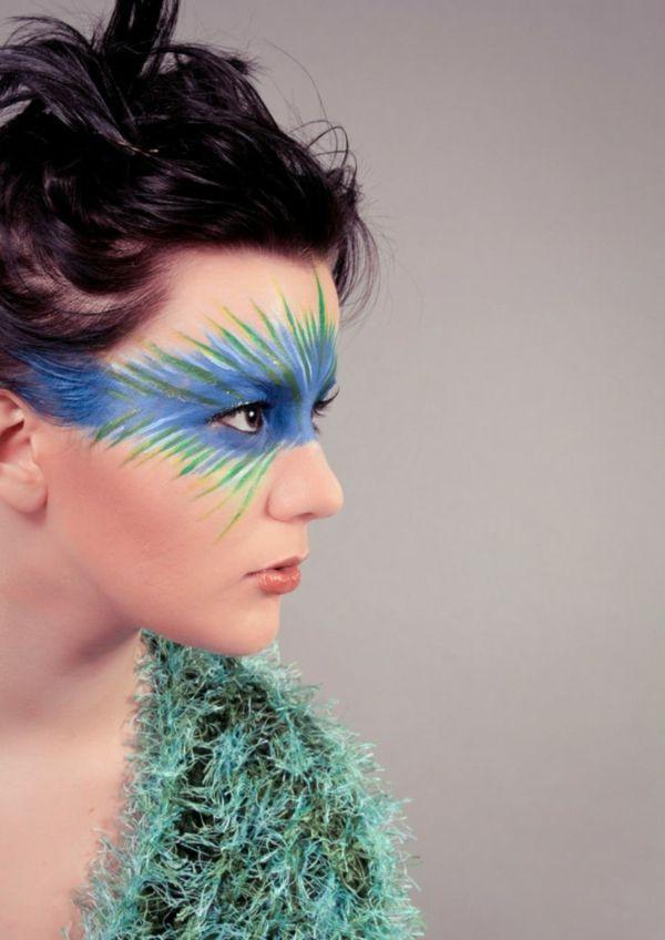 Fasching Schminken - Den Karneval-Look vollenden                                                                                                                                                                                 Mehr