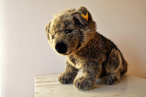 Original Steiff Hassan Alsatian Dog Puppy  Vintage by BebesBazaar