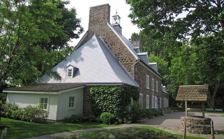 1000 id es propos de vieilles maisons sur pinterest vieux remodelage de - Maison canadienne en france ...