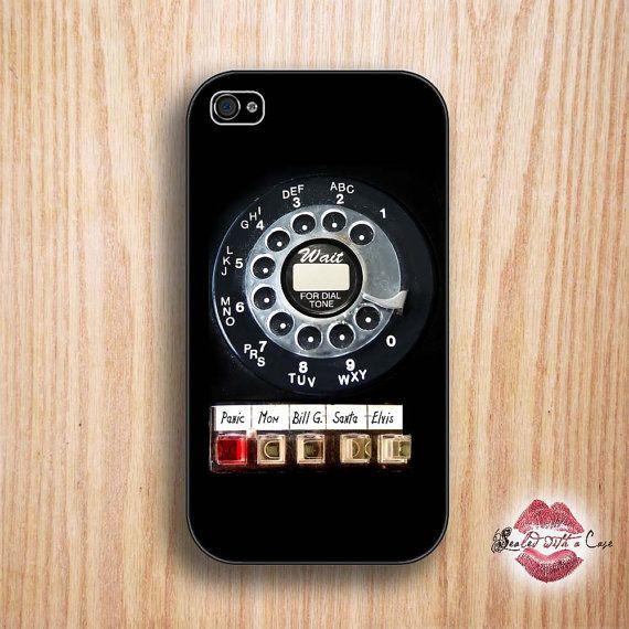 Rotary phone retro phone case --Phones Retro, Phones Iphone, Iphone Cases, Adorable Retro, Cases Iphone, Rotary Phones, Phones Cases, Iphone 4 Cases, Retro Phones