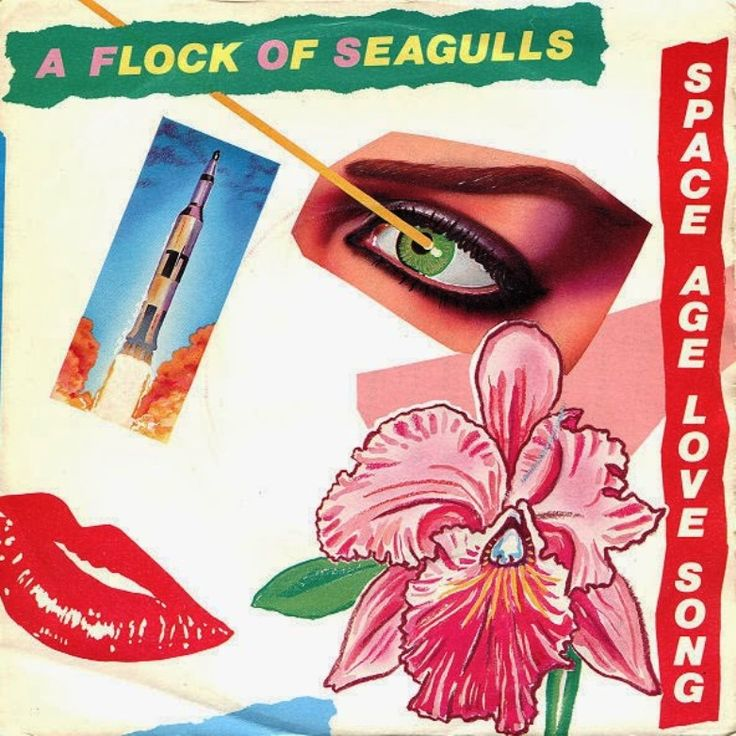 Space age love song. A flock of seagulls