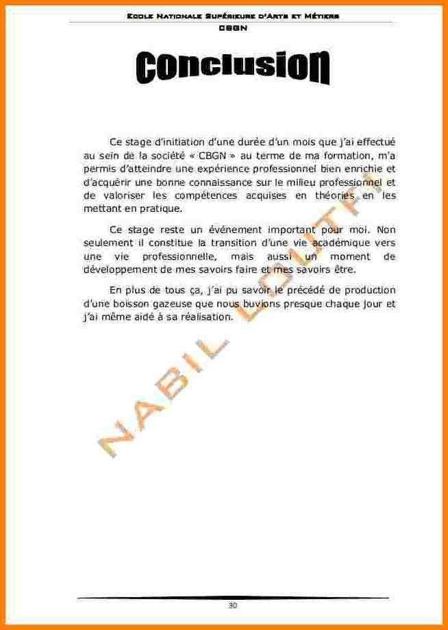 12 Conclusion Rapport De Stage Gouvernoratmaniema Lettre De Remerciement Stage Rediger Un Rapport Lettre De Remerciement