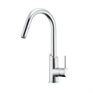 Methven Minimalist Gooseneck Sink Mixer with Pull Out Spray - Bunnings Warehouse