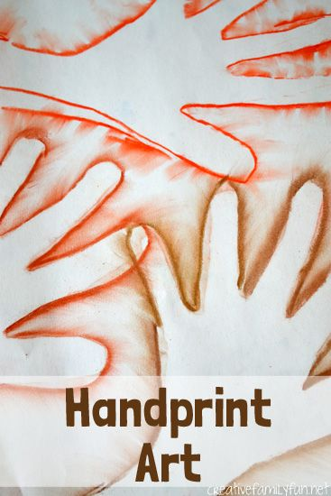Creative Family Fun: Handprint Art: Exploring Argentina Through Art