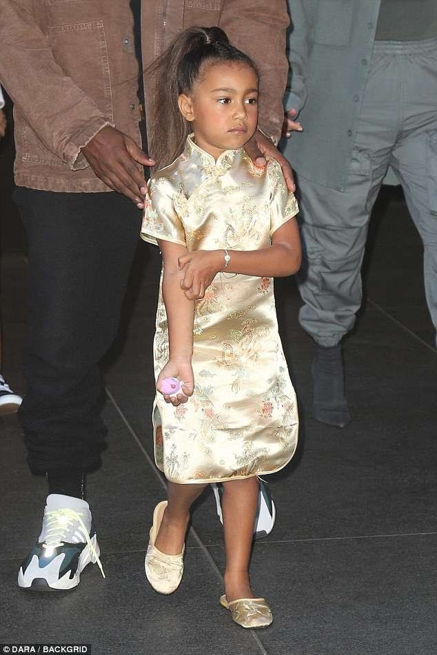 Kanye West Kanyewest Twitter North West Outfits Famous Moms Kids Fashion