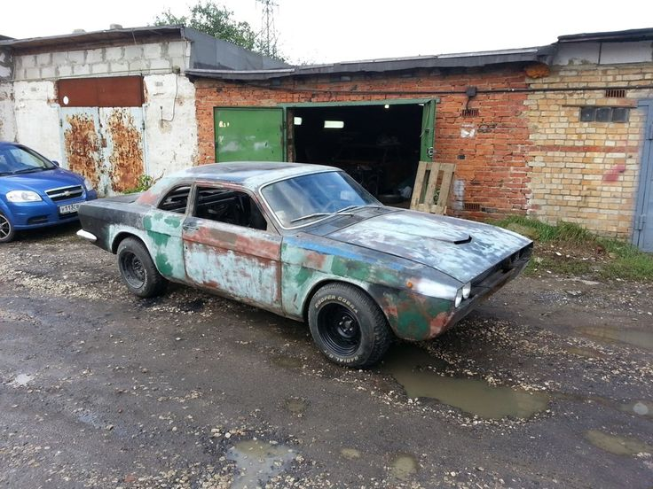 GAZ 24 Drift?!?!?!?