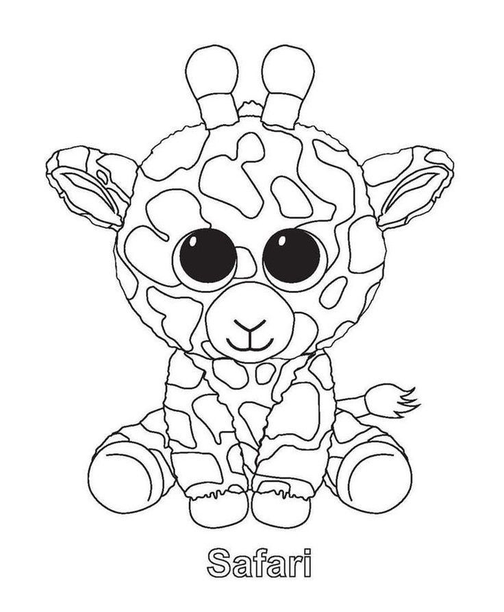 Beanie Boos Coloring Pages Slush Check More At Https Www