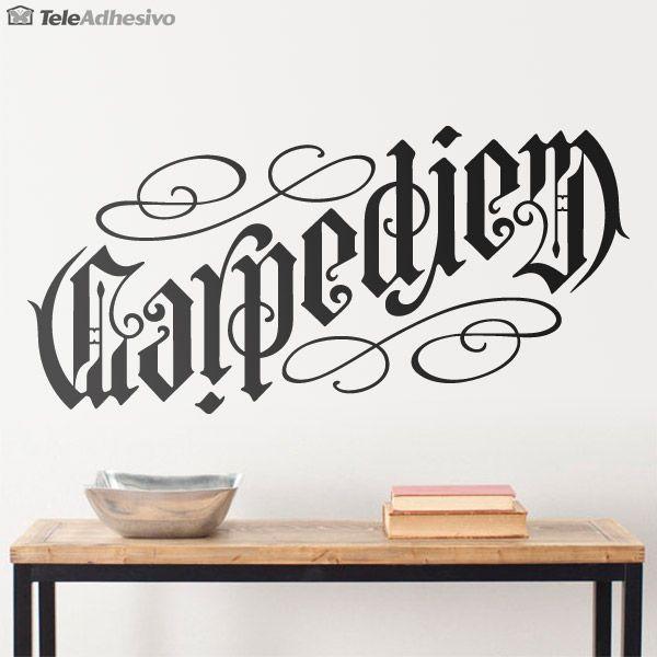 M s de 1000 ideas sobre tattoo fonts cursive en pinterest - Letras vinilo pared ...