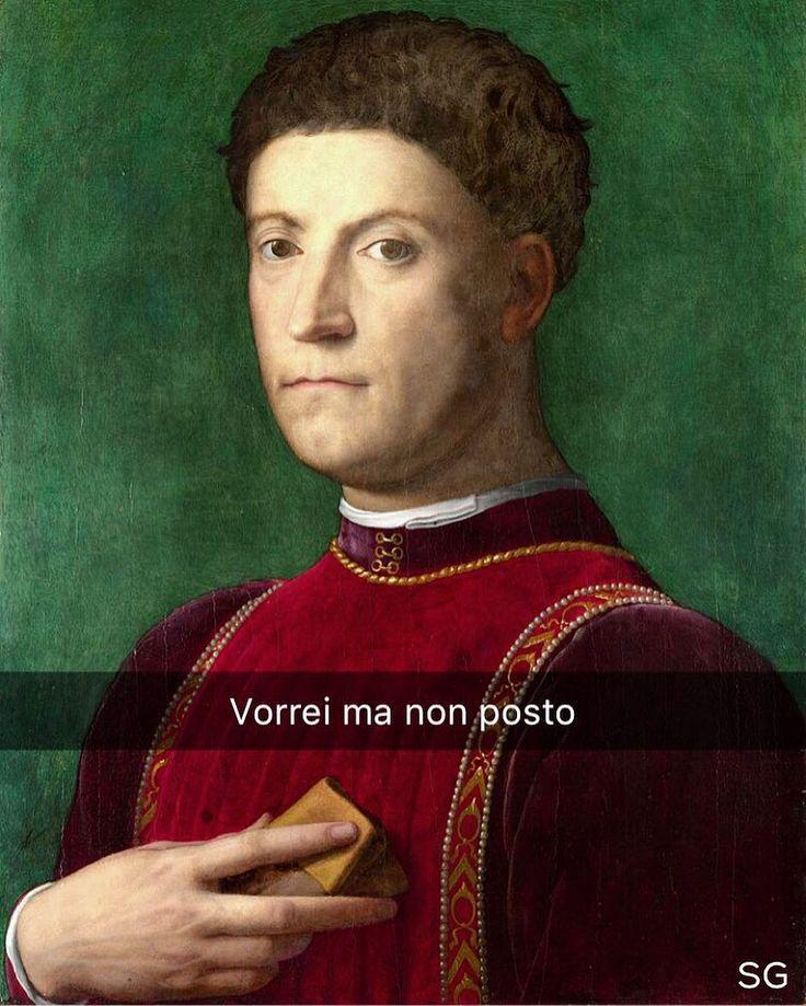 Snapchat: stefanoguerrera Piero de' Medici - Bronzino (1550) #seiquadripotesseroparlare