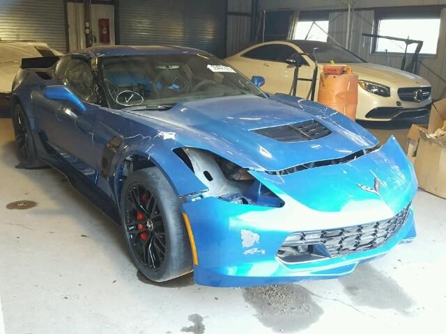 Salvage 2015 Chevrolet Corvette Stingray Coupe For Sale   Salvage Title