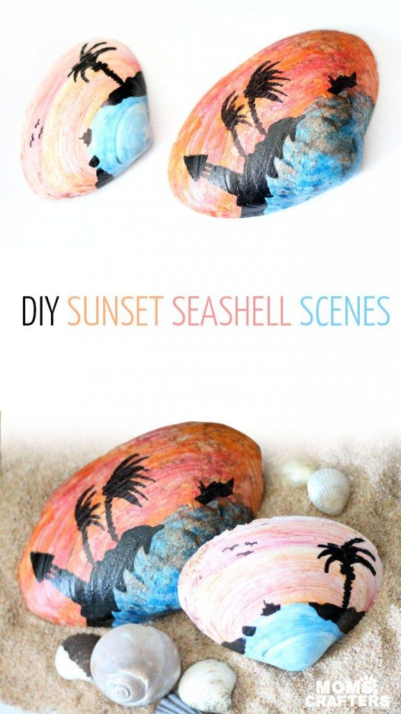 Everyone takes home sea shells from their beach trips – but what do you do with them afterwards? According to Menucha at Moms and Crafters, You don't need to know how to paint to make t…
