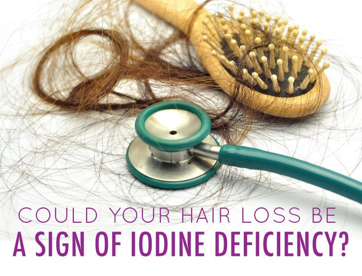 """Iodine in combination with the aforementioned minerals is often considered the best """"hair growth minerals"""" you can take for healthy hair. If you are currently experiencing hair loss, it may be a good idea to supplement with these, as hair loss can be one of the most common signs of a deficiency in iodine."""