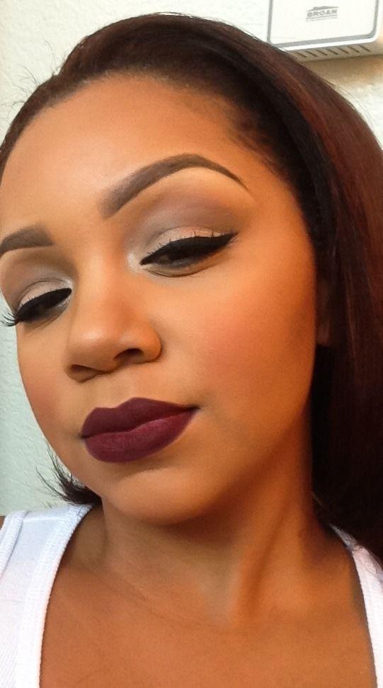 Lipstick Mouth Color: Black, Skin, Brunette, White, Pink