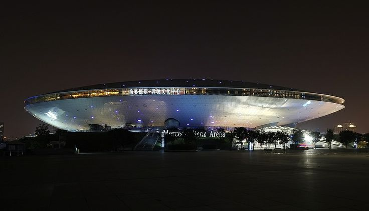 SAUCER !!    Shanghai Mercedes Benz Arena