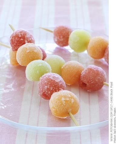6. Favorite summer food - fresh frozen fruit