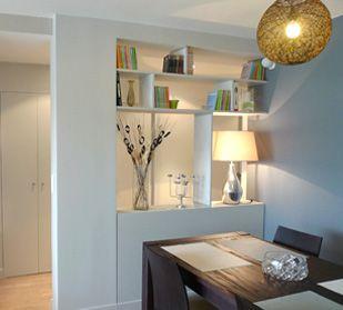 Les 11 meilleures images du tableau meuble de separation sur pinterest cloisons meuble de - Cloison demontable chambre ...
