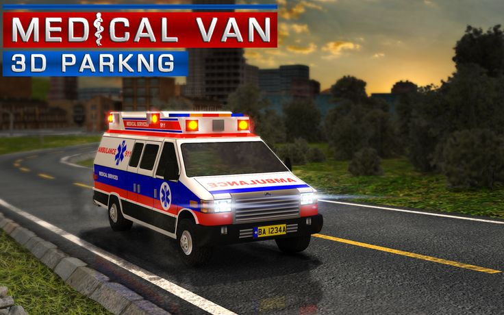 Want to be a hero? Jump into the driver's seat of your medical van and experience the rush of a real ambulance driver!
