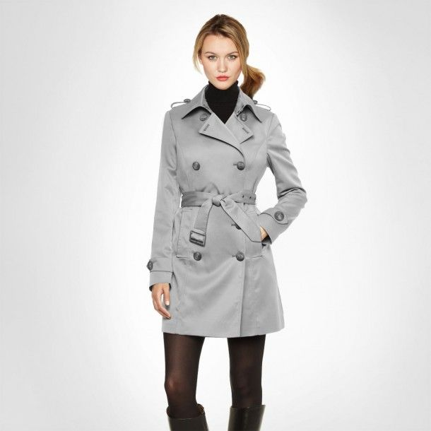 Grey Trench Coat #MOODbyme