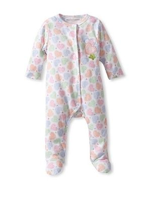 25% OFF Rumble Tumble Baby Heart Longsleeve Coverall (White)