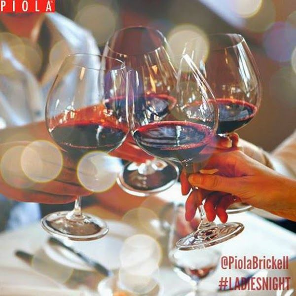 "Ladies Nights @PiolaBrickell Pizza direct from Italy ""Pizzeria and Italian Restaurant"" Brickell - Miami Beach - Weston ~ Miami Food Review"