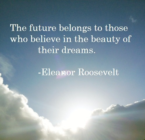 awwww this was my senior quote =) love eleanor roosevelt