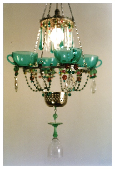 Check Out More Amazing Teacup Chandeliers At Http Www Madeleineboulesteix Co