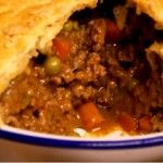 Steak Mince & Onion Pie