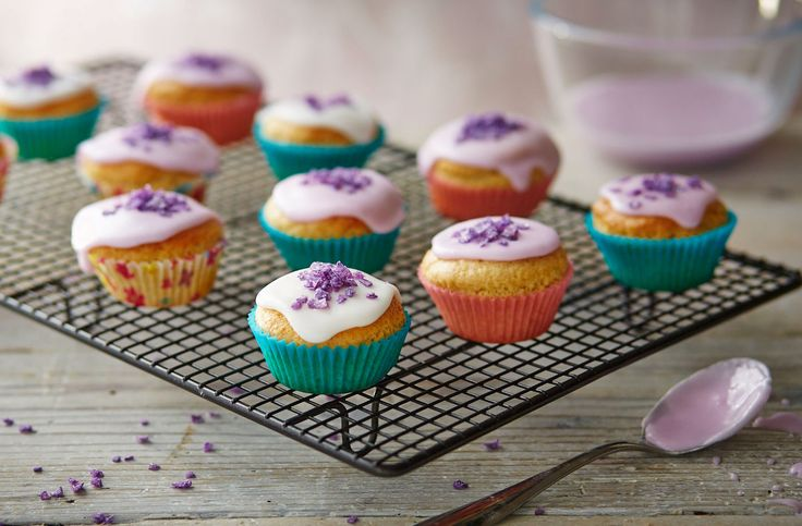 These irresistibly cute little dairy-free cupcakes are made completely without dairy or egg – making them the perfect little treat. Learn how to make these at Tesco Real Food and get the kids involved in this simple recipe.