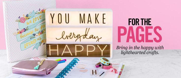 Scrapbook & Paper Crafts | Hobby Lobby