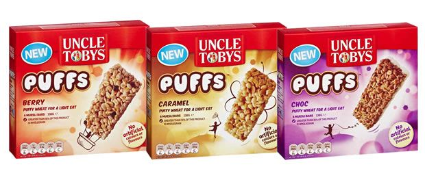 Brand Power : Uncle Toby�s PUFFS Muesli Bars