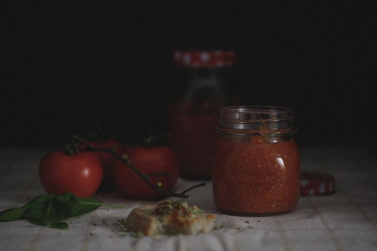 O nosso molho de tomate