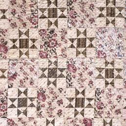 "1840 - 1860 Rachel Burr Corwin's ""Variable Star"" Quilt"