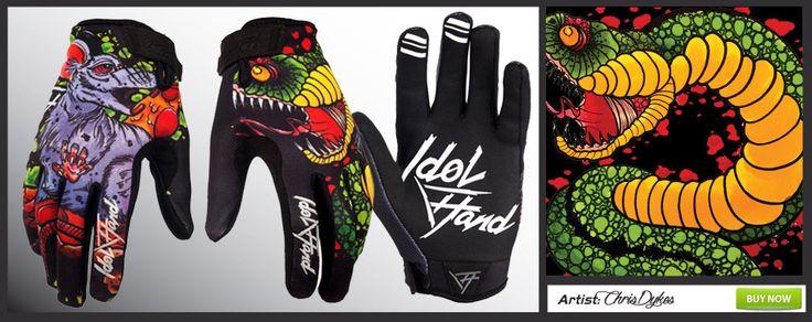 Idol Hand bmx glove Mutiny prey