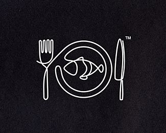Continuous line logos... can't get enough of these!