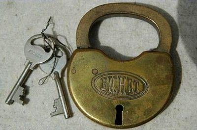 Les cadenas de sûreté Fichet, histoires des clés et leurs serrures.