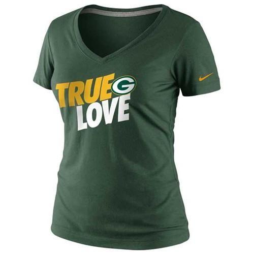 Green Bay #Packers Nike Women's True Love T-shirt. - $27.99