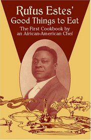 Executive Chef RUFUS ESTES, the first African American chef to publish a cookbook. It contained 22 chapters and 591 recipes, but they were unlike the lengthy, detailed recipes found in contemporary cookbooks. Instead, Estes gave a few specific measurements and techniques in single paragraphs.