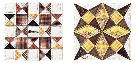Quilting pattern - craft ideas for a baby quilt